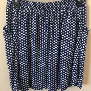 Old Navy Skirts - Old Navy Fit and Flare Pocketed Drapey Skirt